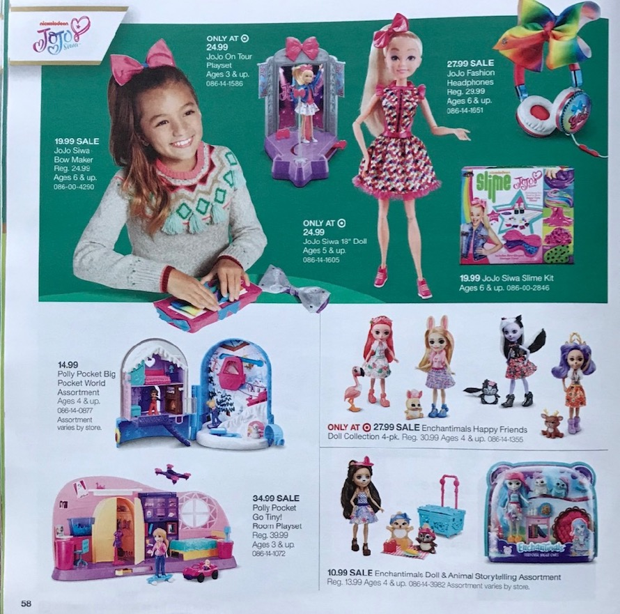 target toy catalog request
